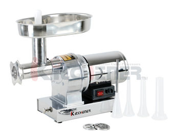 Stainless Steel Small Home Meat Mincer , ETL Sausage Stuffer 550W Motor