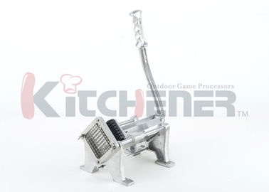 Aluminum Commercial Potato French Fry Cutter , French Fries Slicer With Screw Base Bottom